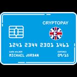 cryptopay gbp logo